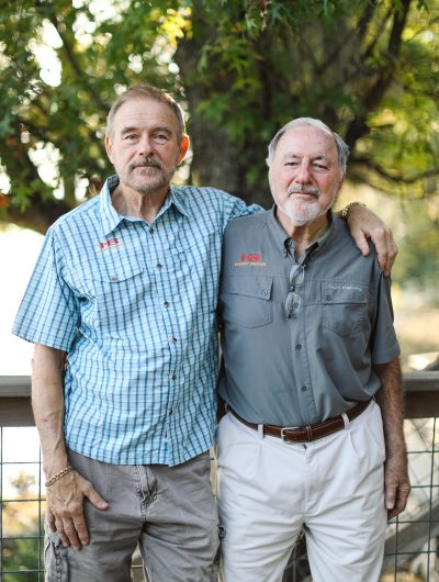 Michael and Ron Johnson, Honey Brake founders